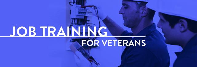 job training for veterans